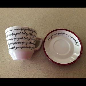 Hallmark Cup & Saucer set